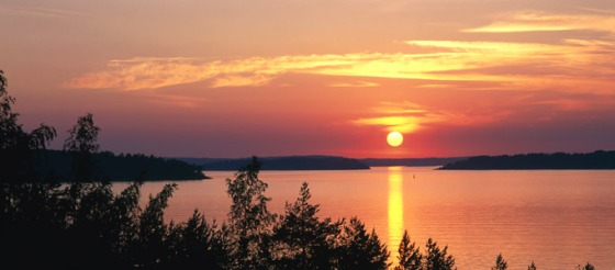 Lapland-sunset