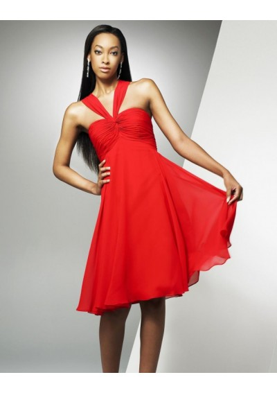 elegant bow cheap cocktail dresses